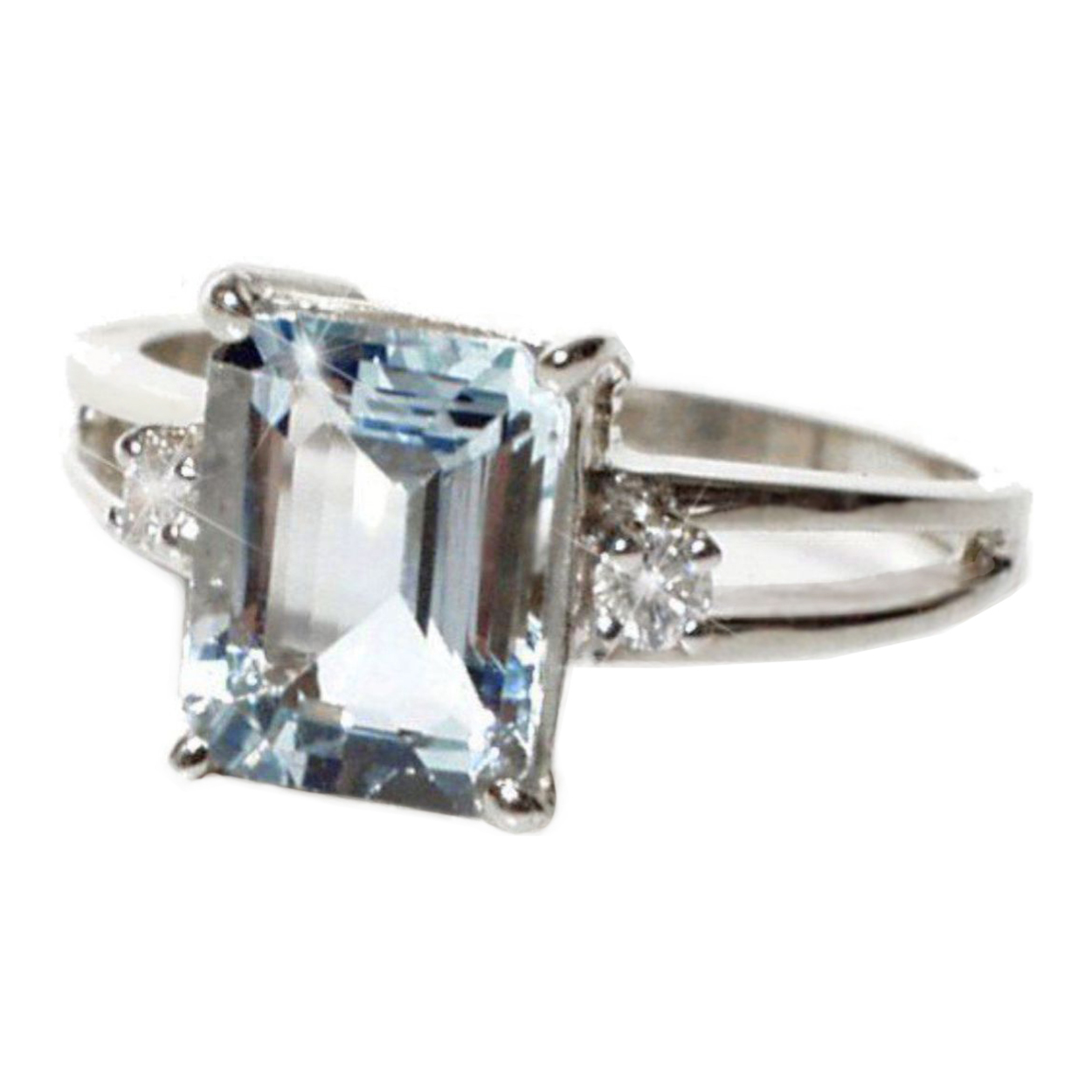 sabrinasilver rings impl inch natural halo engagement wide diamond oval silver aquamarine home sterling ring shopcart