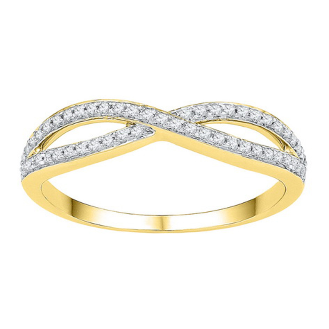 white in p htm ring infinity twist round halo gold engagement diamond ct
